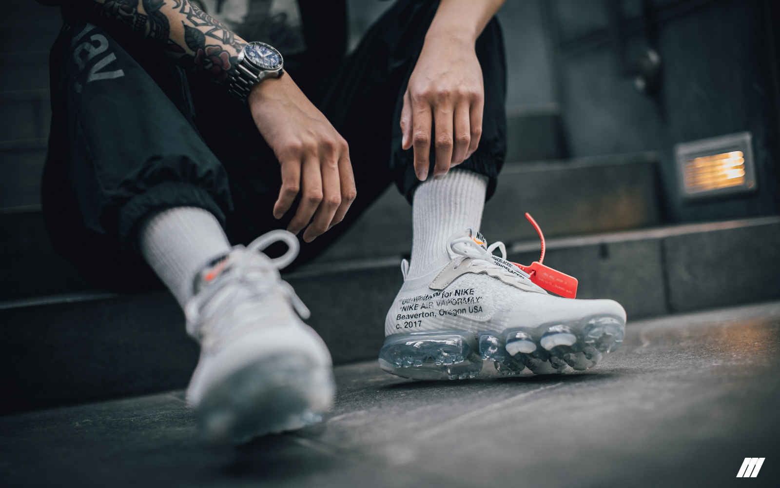 f38a98aa9 ... Unboxed Episode 17 Virgil Abloh x Nike Air Vapormax White The
