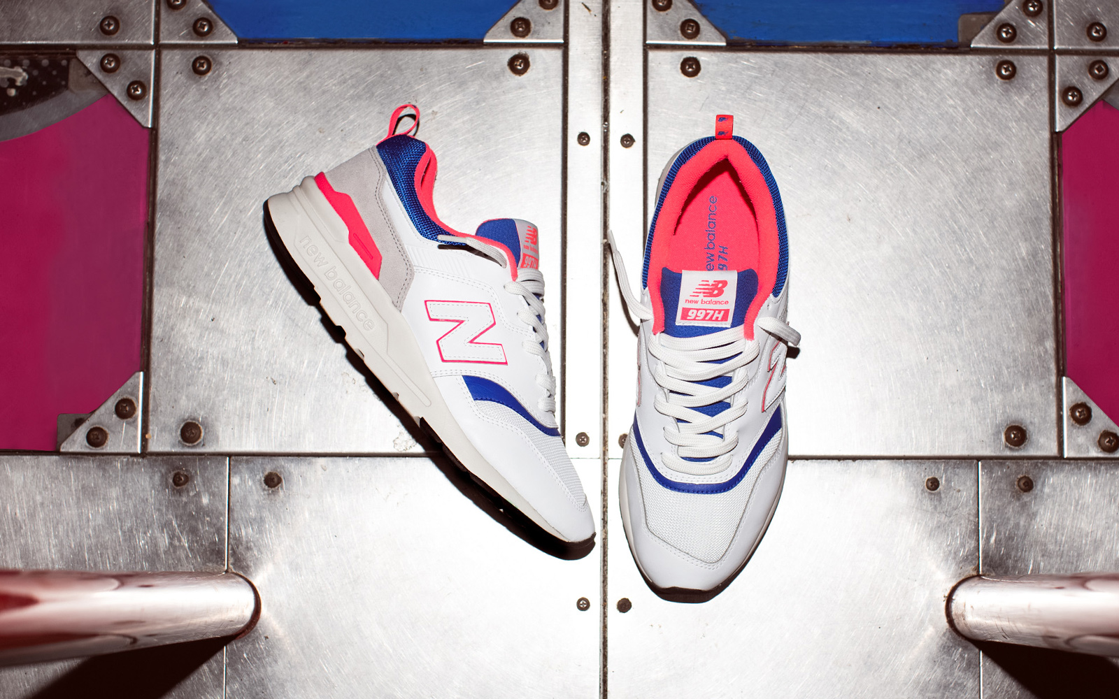NEW BALANCE PRESENTS THE 997 IN INDIVIDUALISTIC STYLE
