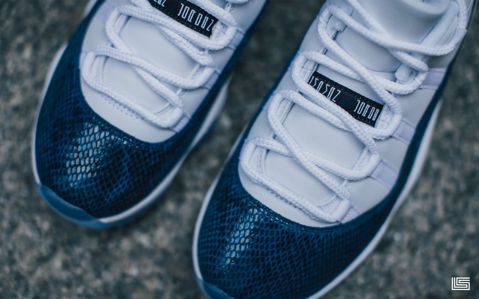 size 40 1f0aa c0d76 Set To Drop  Retro Air Jordan 11 Low LE  Navy Snakeskin    The Lifestyle