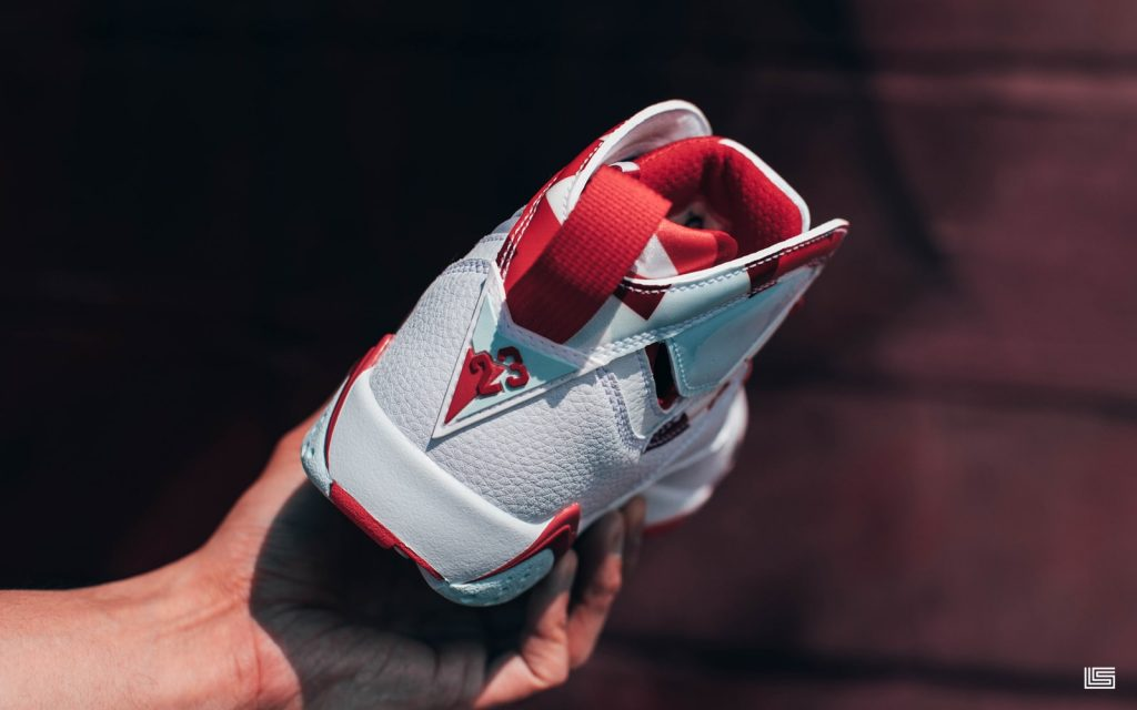 88a096fd721 The Kids Air Jordan Retro 7 (White/Red) drops Saturday, May 18th in-store  and online at dtlr.com.