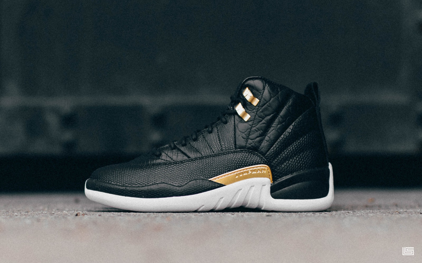 "more photos a4dae 8b9d0 Set to Drop  Women s Air Jordan 12 ""Midnight Black""   The Lifestyle"