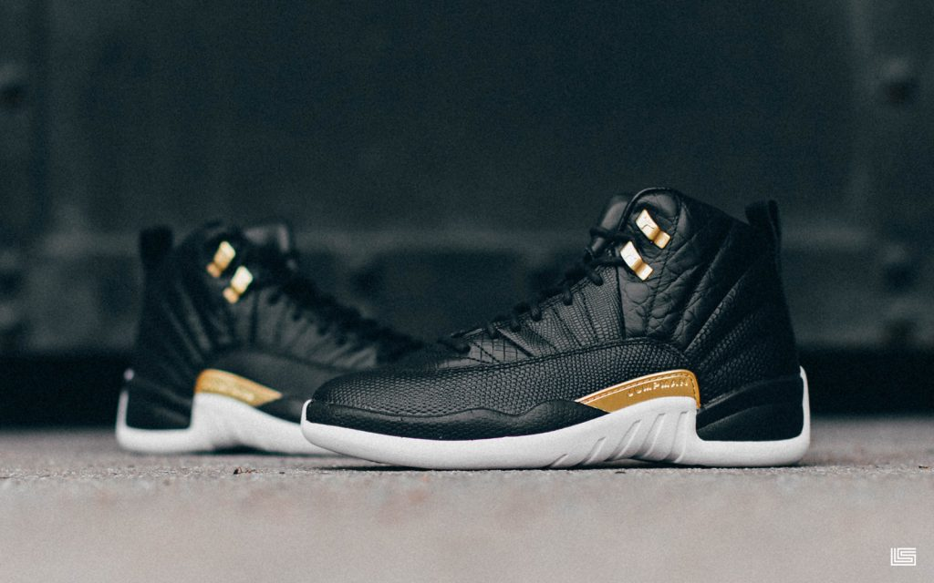 "timeless design 3e8d6 cf65e Set to Drop: Women's Air Jordan 12 ""Midnight Black"" 