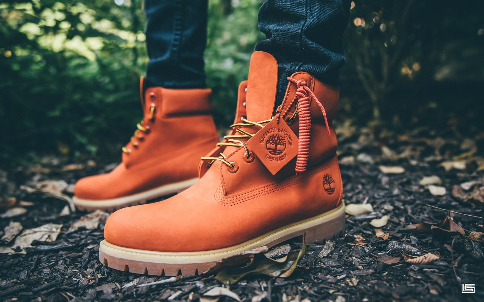 "EXCLUSIVE TIMBERLAND 6″ PREMIUM BOOT ""ORANGE"""